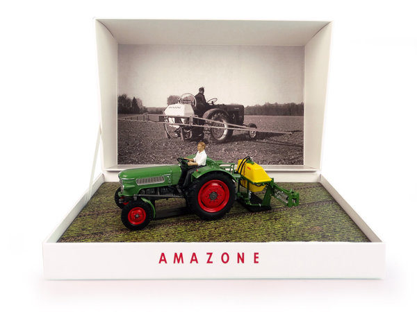 Universal Hobbies 6201 Fendt Farmer 2 mit Amazone S300 Limited Edition 1:32