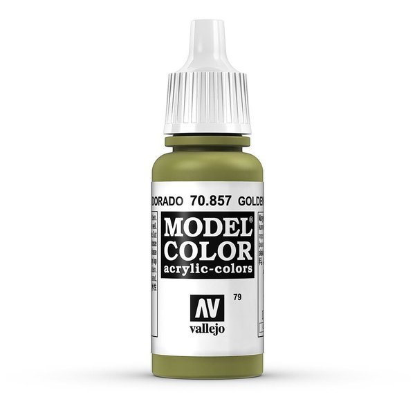 Vallejo Model Color Goldoliv, matt, 17 ml