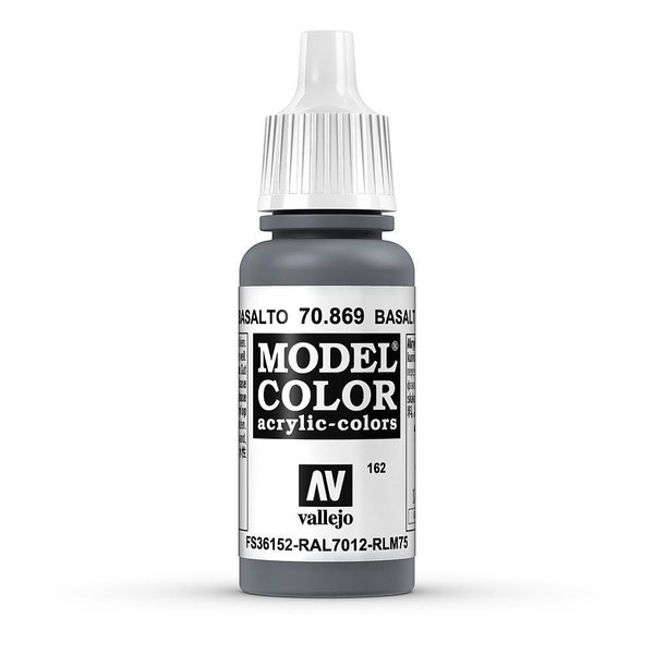 Vallejo Model Color Basaltgrau, matt, 17 ml