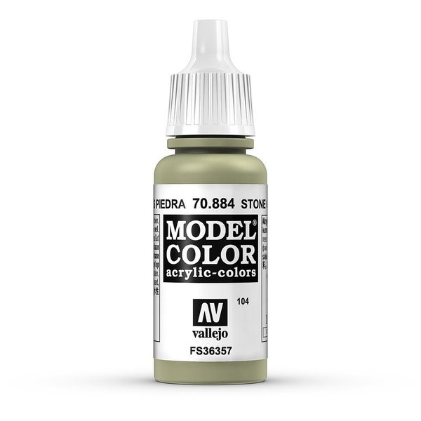 Vallejo Model Color Steingrau, matt, 17 ml