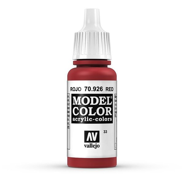 Vallejo Model Color Rot, matt, 17 ml