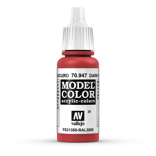 Vallejo Model Color Orientrot, matt, 17 ml