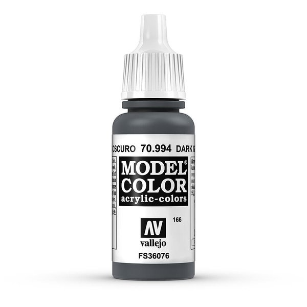 Vallejo Model Color Dunkelgrau, matt, 17 ml